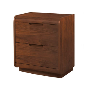 PC209 - Universal Pedestal Walnut