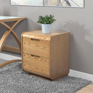 PC209 - Universal Pedestal Oak