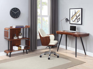 PC714 - San Francisco Executive Desk Walnut - PRE ORDER FOR FEBRUARY DELIVERY