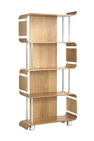 BS201 Helsinki Bookshelf (Oak) - PRE ORDER FOR DELIVERY IN JULY