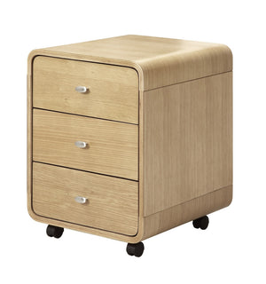 PC201 Helsinki 3 Drawer Pedestal (Oak)