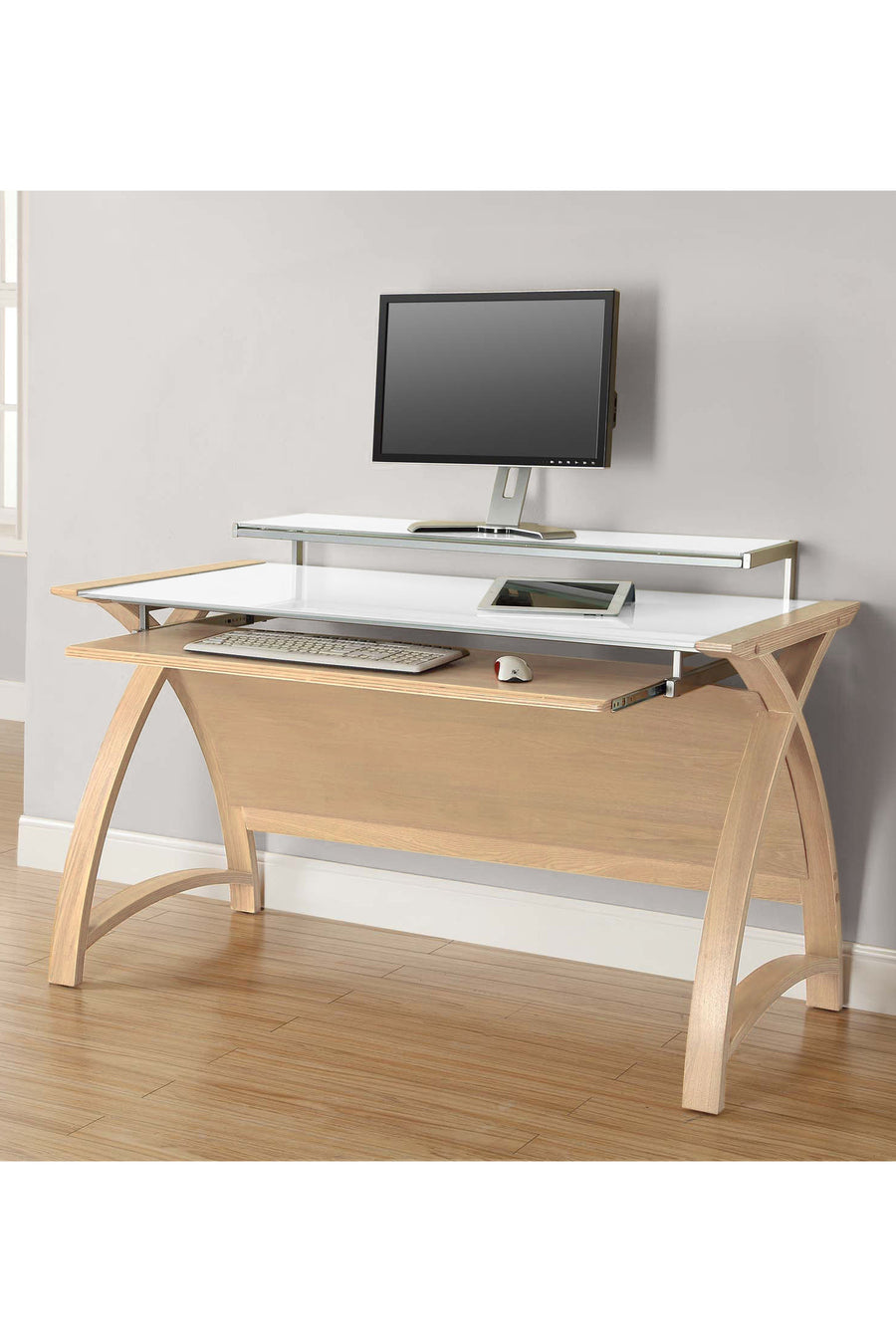 PC201 Helsinki 1300 Desk (Oak) - PRE ORDER FOR DELIVERY W/C 12/10/20