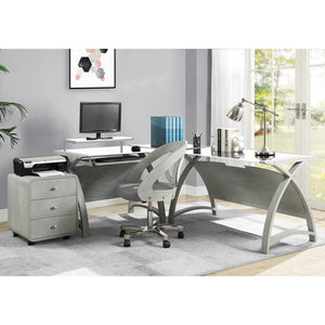 PC201 Helsinki 1300 Desk (Grey)