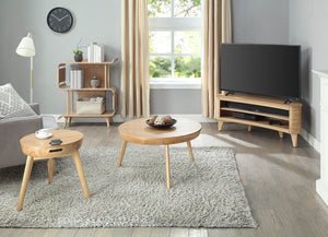 JF709 - San Francisco TV Stand Ash-PRE ORDER FOR DELIVERY W/C 08/04/19