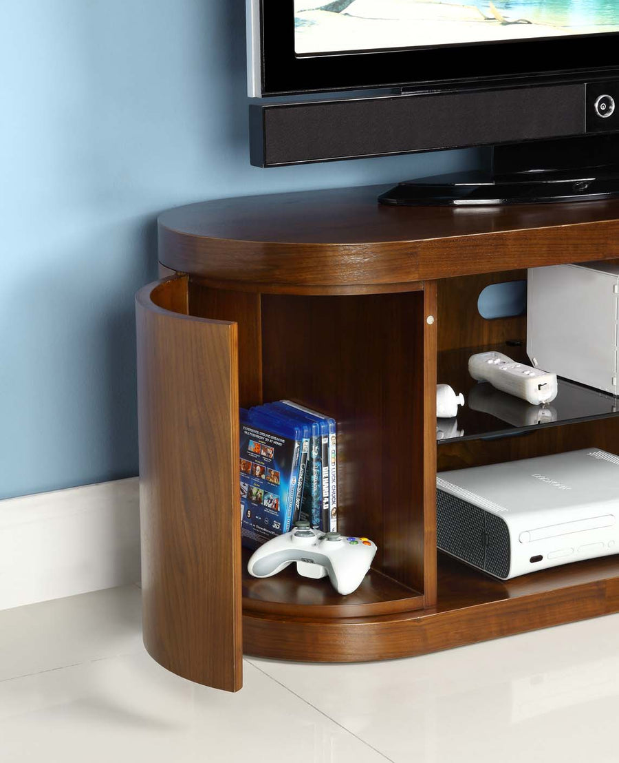 Jual JF207 Walnut TV Cabinet