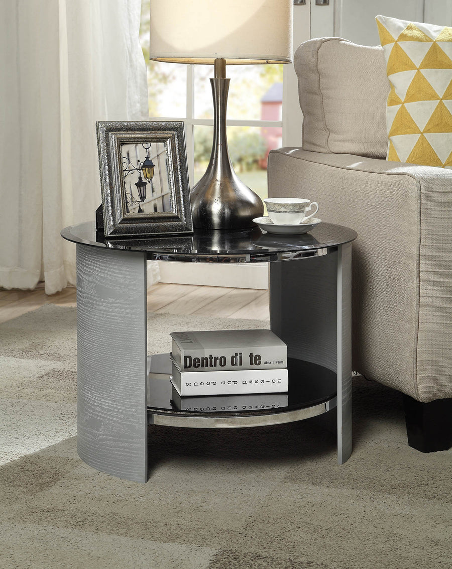 JF303 San Marino Lamp Table (Grey)