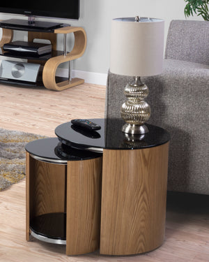 JF305 San Marino Nest of Tables (Oak)