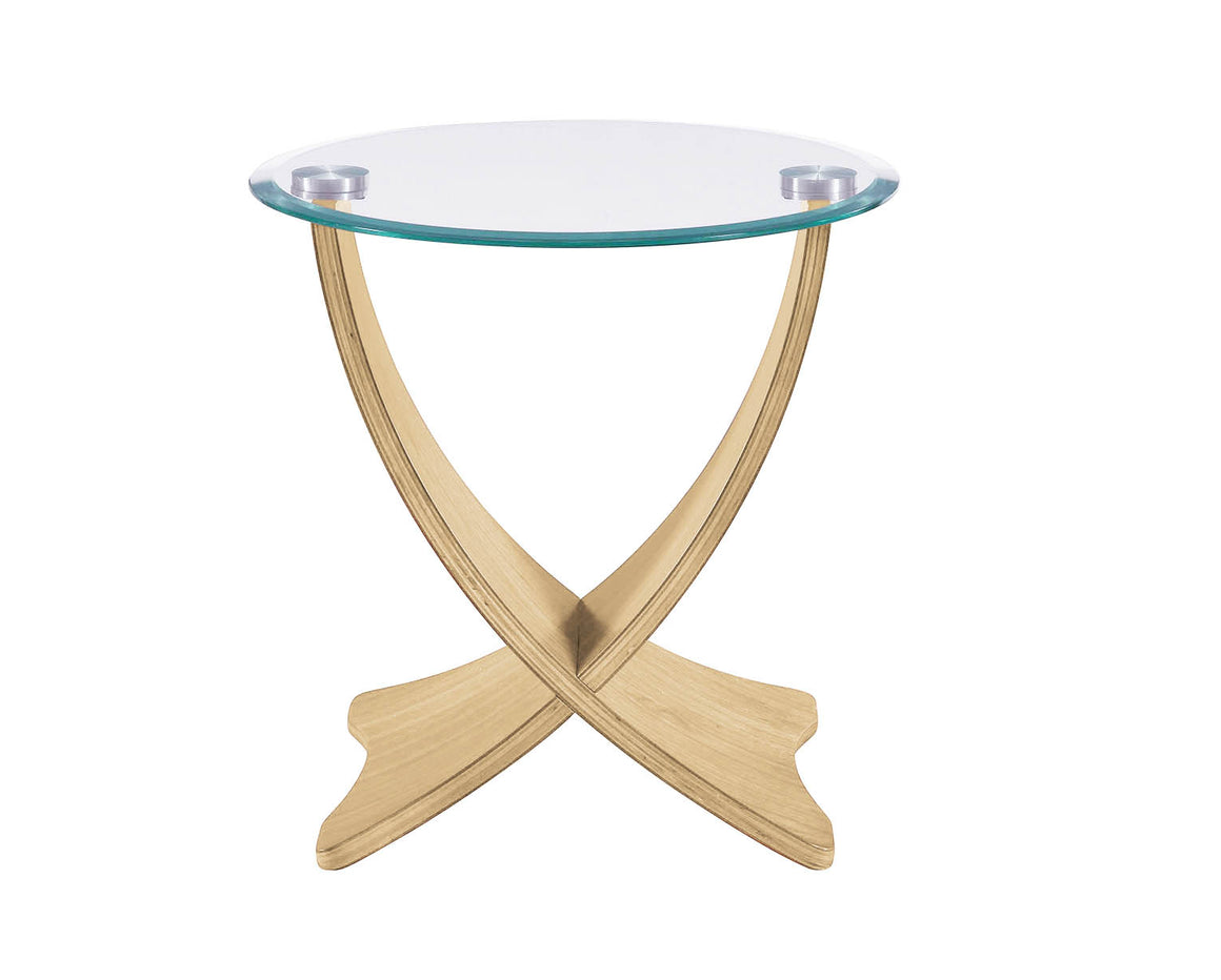 JF309 - Siena Lamp Table Oak - PRE ORDER FOR DELIVERY IN JUNE