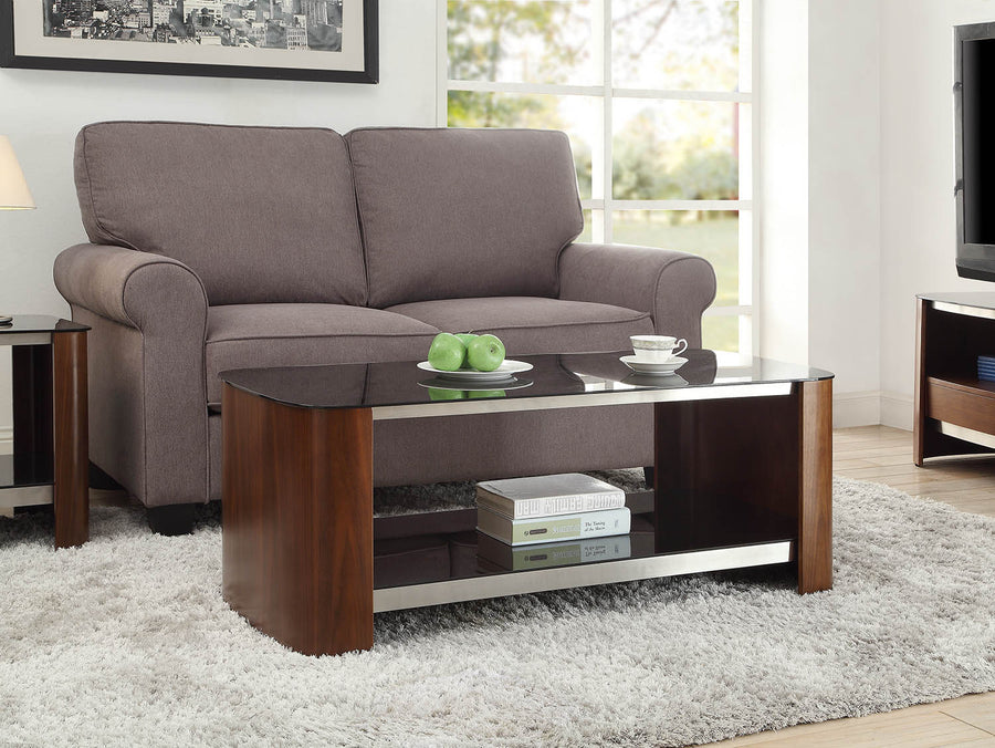 Jual Jf310 Melbourne Walnut Coffee Table