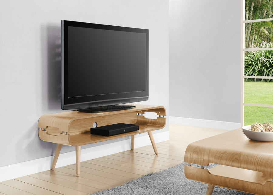 JF702 Havana TV Stand Oak - PRE ORDER FOR FEBRUARY DELIVERY