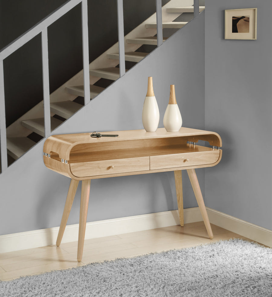 JF705 Havana Console Table Oak - PRE ORDER FOR FEBRUARY DELIVERY