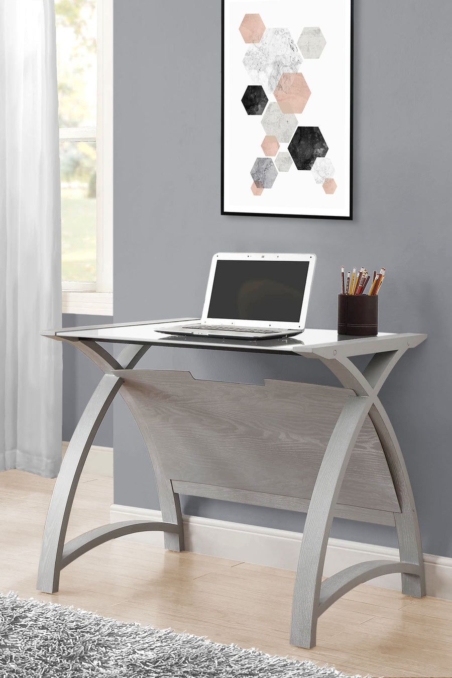 PC201 Helsinki 900 Table (Grey) - PRE-ORDER FOR DELIVERY W/C 7/9/2020