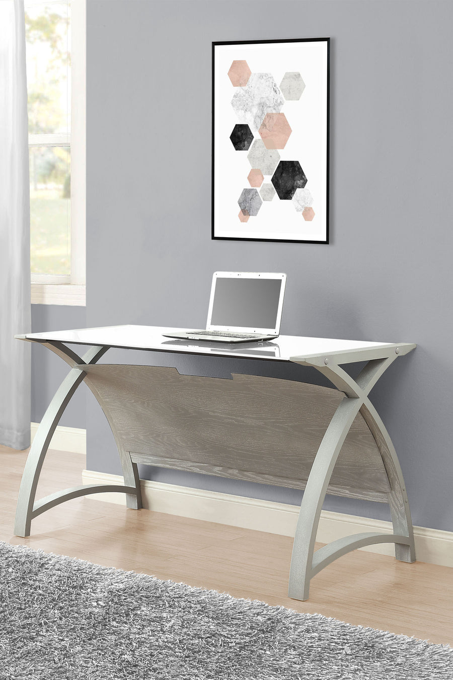 PC201 Helsinki 1300 Table (Grey)