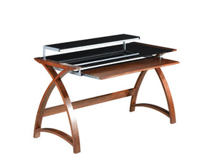 PC201 Helsinki 1300 Desk (Walnut) - PRE ORDER FOR MARCH DELIVERY