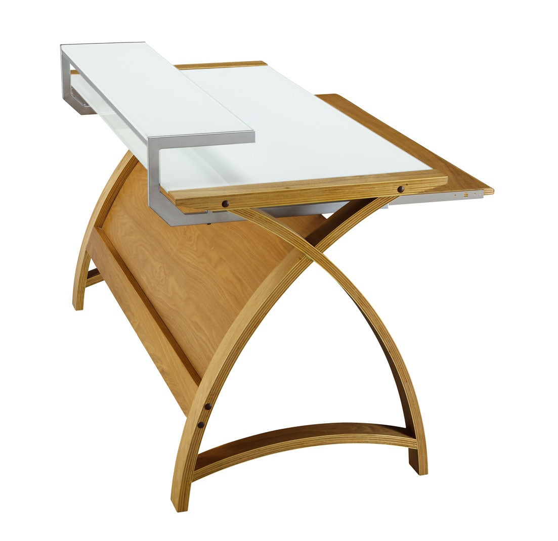 PC201 Helsinki 1300 Desk (Oak) - PRE ORDER FOR FEBRUARY DELIVERY