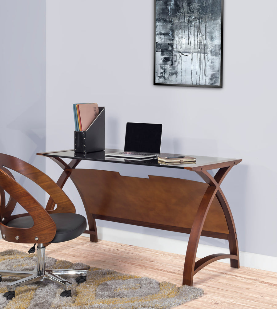 PC201 Helsinki 1300 Table Walnut - PRE ORDER FOR DELIVERY W/C 05/10/20