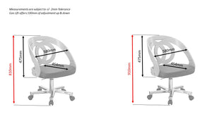 PC606 Helsinki Office Chair (Grey) - THIS CHAIR IS NO LONGER AVAILABLE