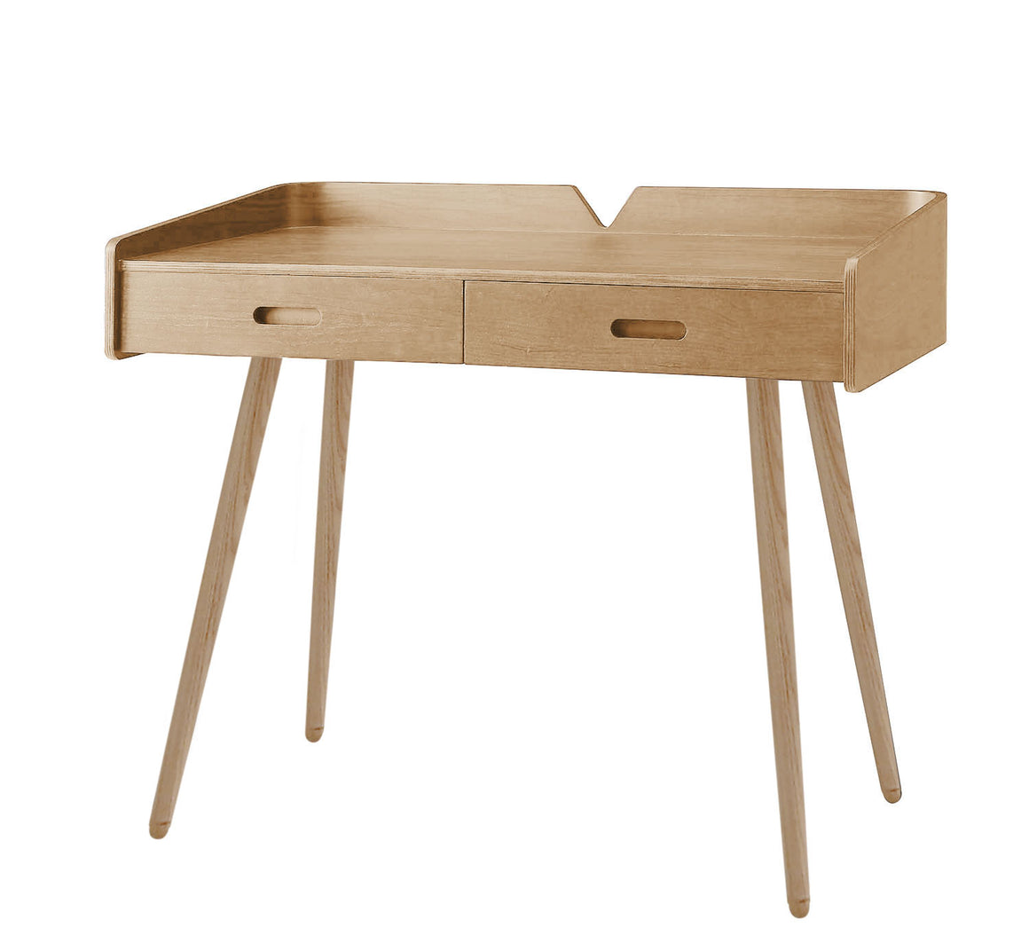 PC609 Vienna Drawer Desk Oak