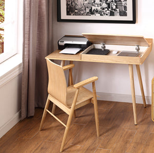 PC710 -San Francisco Storage/Printer Desk Oak