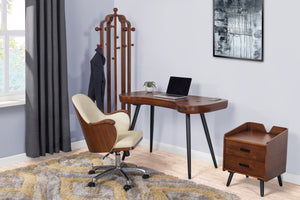 PC712 - San Francisco Executive Office Chair Walnut