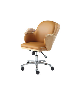 PC712 - San Francisco Executive Office Chair Oak - PRE ORDER FOR DELIVERY W/C 05/10/20