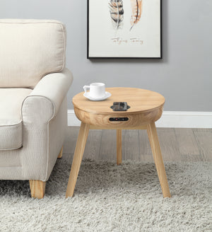 JF710 - San Francisco Speaker/Charging Lamp Table