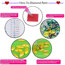 Load image into Gallery viewer, Witch Diamond Art Bookmark