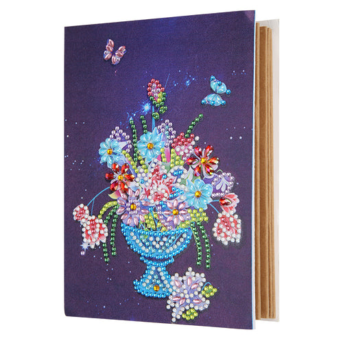 Multi Colour Flowers In Vase Painting Album Cover