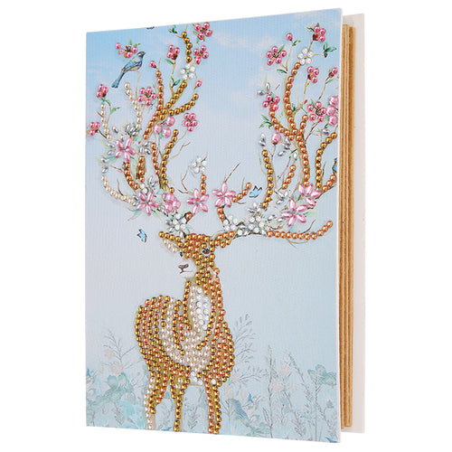 Beautiful Deer Painting Album Cover