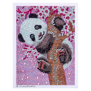 A Panda's Dream Special Paint By Diamond kit