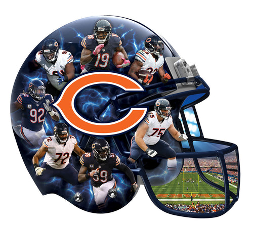 Chicago Bears painting by diamonds