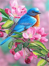 Load image into Gallery viewer, Colored Bird 5D Paint by Diamonds