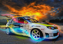 Load image into Gallery viewer, Colourful sports car Painting Kit