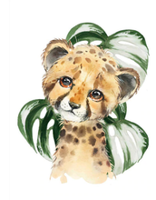 Load image into Gallery viewer, Cute Tiger - 5D Diamond Art Painting