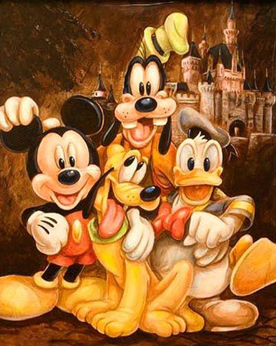 Disney Cartoons Diamond Painting