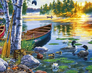 Ducks Diamond Painting Kit