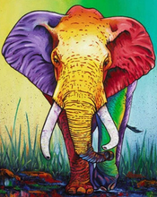 Load image into Gallery viewer, Elephant - 5D Diamonds Painting