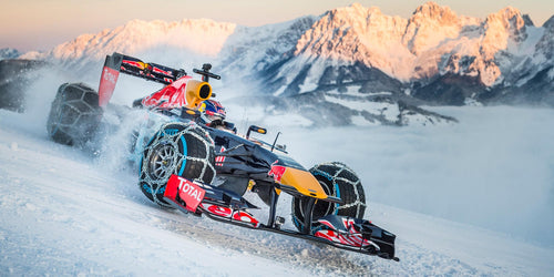 Formula One Snow Driving