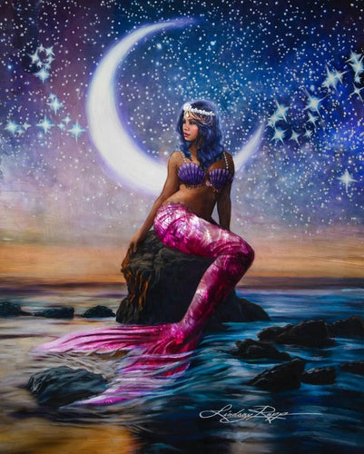 Mermaid diamond painting