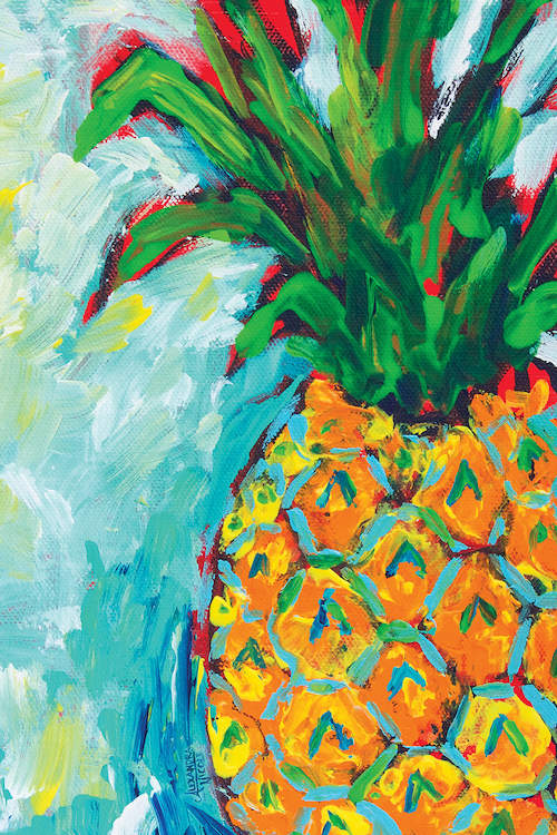 Amazing Pineapple - Diamond Art Painting Kit
