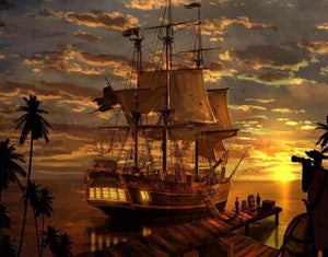 Pirates Ship DIY Painting Kit