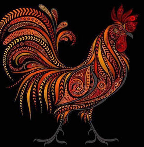 Rooster DIY Painting Kit
