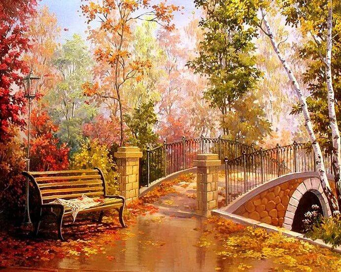 Bridge Diamond PAinting