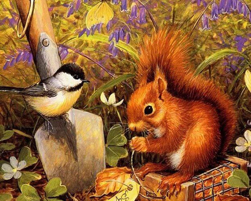 Squirrel Painting Kit