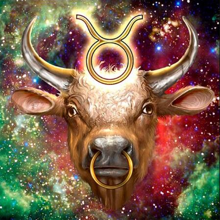 Taurus Diamond painting Kit Zodiac sign