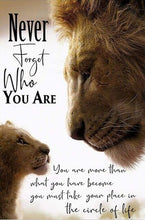 Load image into Gallery viewer, The Lion King Motivational quote