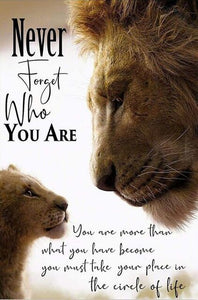 The Lion King Motivational quote