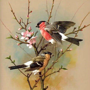 Birds DIY Diamond Painting Kit