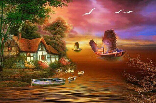 Beautiful Scenery Painting Kit