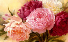 Load image into Gallery viewer, Gorgeous Flowers Diamond Art Kit